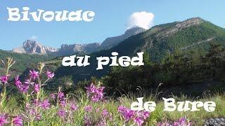 Bivouac bushcraft au pied de Bure : Hautes-Alpes : BBN