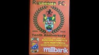 Runcorn Linnets v 1874 Northwich NWCFL Premier Div 24/04/2016