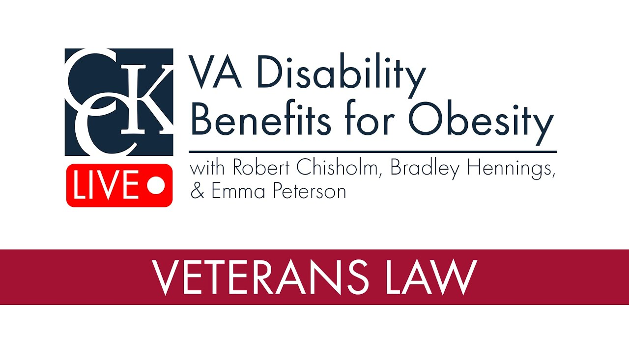 Obesity and VA Disability Benefits