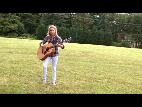 12-year-old Abby Miller performs
