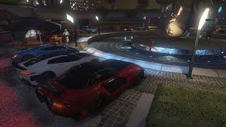 Livestream - GTA 5 - JULY 4TH AMERICAN CAR MEET and Racing Playlist PS4