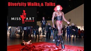 """LA Art Show Performance """"Diversity Walks & Talks"""""""