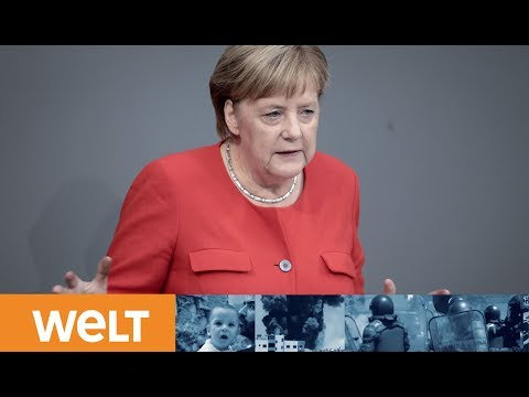 GENERALDEBATTE: Merkel nennt Migration Nagelprobe für Europa