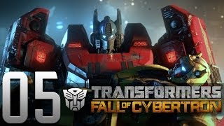 Transformers: Fall of Cybertron Part 5 HD Gameplay Walkthrough - Let