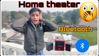how to make bluetooth home theatre at home||BLUETOOTH SPEAKER|| HOME THEATRE||