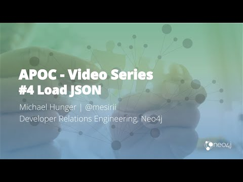 Loading Data from JSON Web APIs into Neo4j with apoc load json (#4)