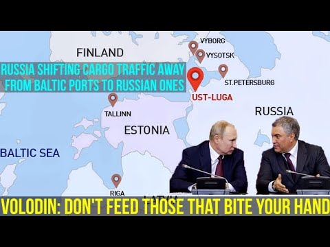 """Russia Passes Law To Stop Using Baltic Ports: We Are Not """"Feeding"""" Our Unfriendly Neighbours!"""