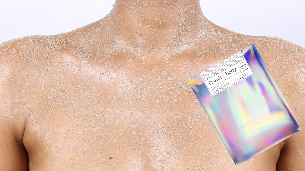 Frank body shimmer scrub review first impression for Frank s auto body