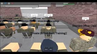 ROBLOX-British Army Training