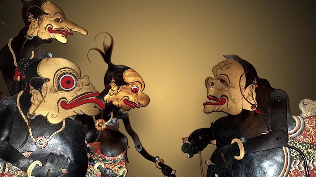 how to make wayang kulit puppet