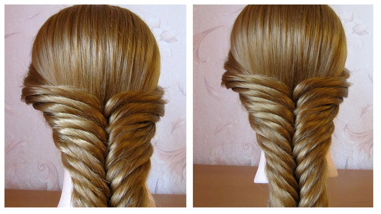 tuto coiffure cheveux longs mi long tresse facile avec lastiques easy braid hairstyle. Black Bedroom Furniture Sets. Home Design Ideas