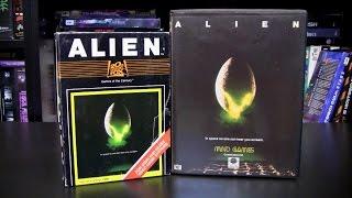 Alien (Atari 2600/C64) - a review by the Retro Gambler