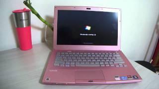 소니 바이오 노트북 핑크 VPC SB36FK 퀵 부트
