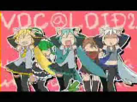 Vocaloid Caramelldansen