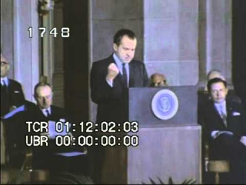 A discussion on two presidential candidates richard nixon and george mcgovern