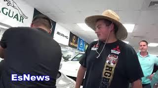 Car Shopping In Hawaii boxing champ mikey garcia EsNews Boxing