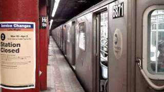 R142 2 & 5 trains at Hoyt Street