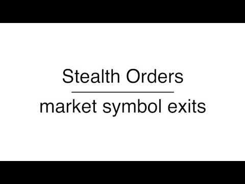 Stealth Orders - MEX NexGen MT4 www.mexexchange.com
