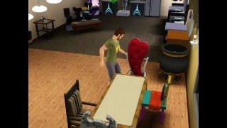 Новенький дом в Sims 3