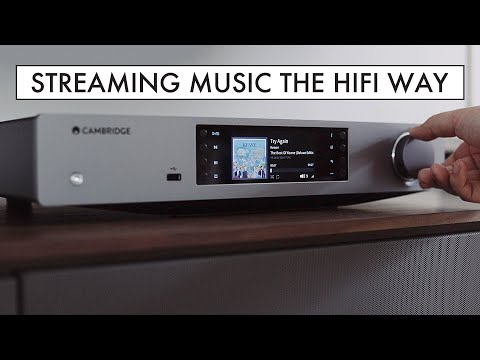 Streaming Music From SPOTIFY And TIDAL The HIFI Way - Cambridge Audio CXN (V2) REVIEW