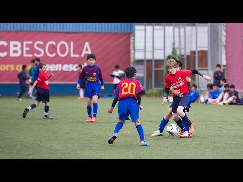 V Torneig Internacional de l'FCBEscola (Dilluns 21/03/2016 matí)