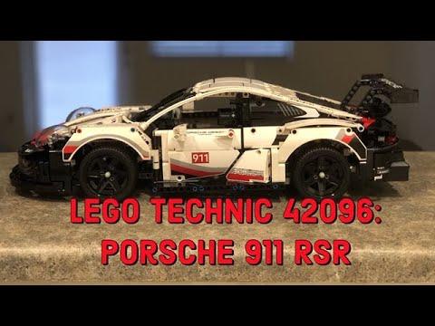LEGO Technic 42096 Porsche 911 RSR Review & Time Lapse
