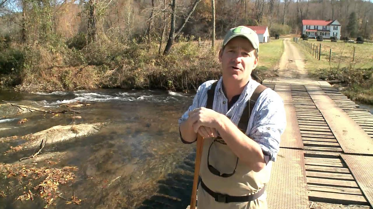 Fishing on the mitchell river youtube for Nc wildlife fishing license