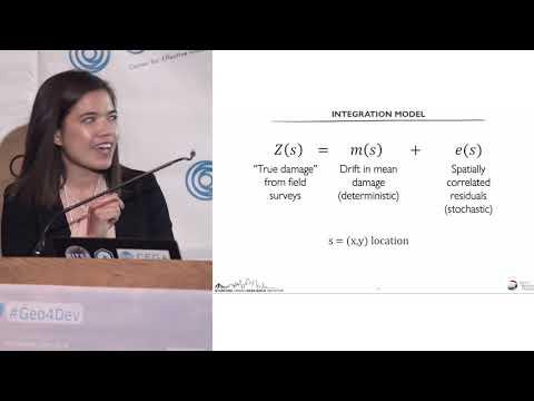 Rapid integration of post-disaster data sources - Sabine Loos (Geo4Dev)