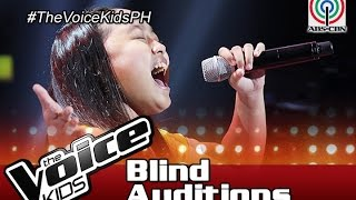 """The Voice Kids Philippines 2016 Blind Auditions: """"Don't Cry Out Loud"""" by Kate"""