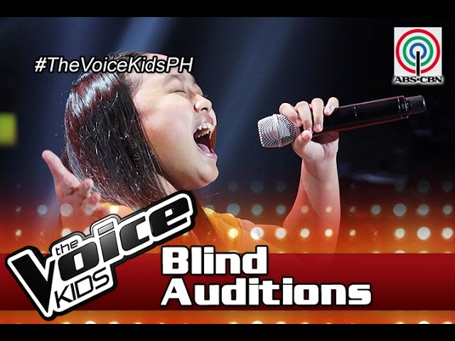 The Voice Kids Philippines 2016 Blind Auditions: Dont Cry Out Loud by Kate