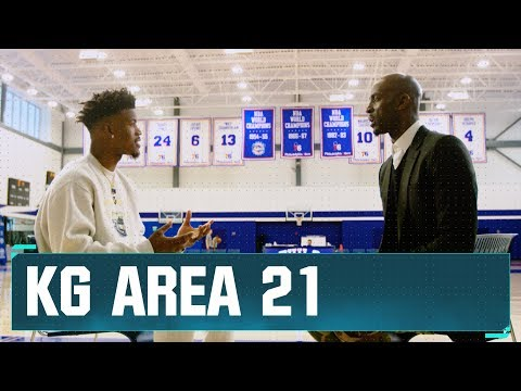 Jimmy Butler Discusses His Philly Transition with KG | Area 21