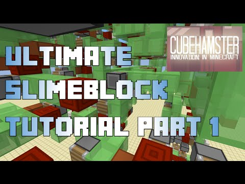 Ultimate Slimeblock Tutorial (Part 1): Piston Engines and Attachments