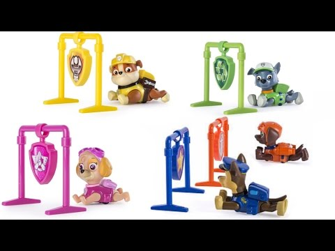 Thumbnail: Best Learning Colors Video for Preschool Children - Paw Patrol Pull Back Pup Races