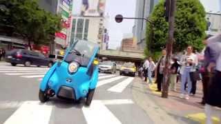 Toyota i-ROAD: Tokyo Trials