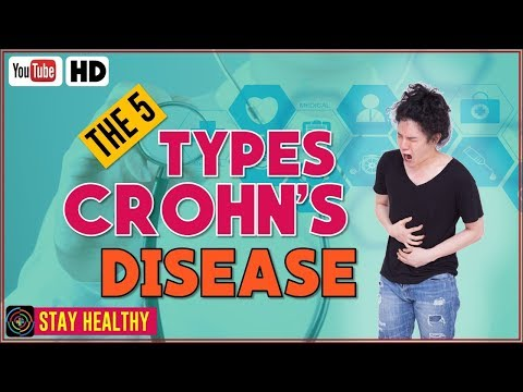 The 5 Types Of Crohn's Disease - What is Crohn's disease?