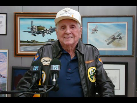 P-51 Pilot Ted Conlin -- WWII European Theater of Operations