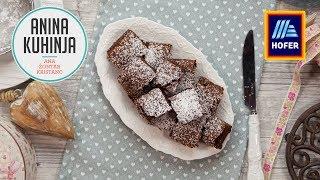 Youtube video Čokoladni browniji iz dveh sestavin