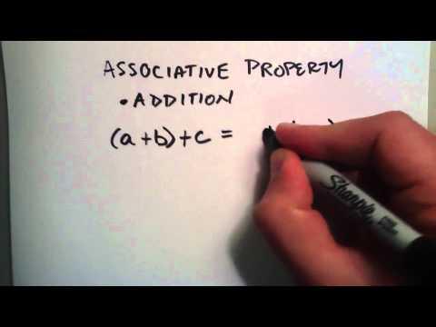 What are Algebraic Properties
