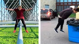 Best of Action Comedy / Flips And Tricks Picks / Parkour & Freerunning