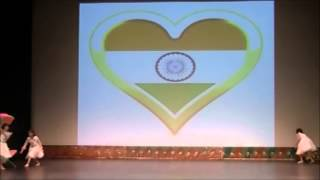 Phir bhi dil hai hindustani dance - Anjana Babbar - JGDA fest 2013