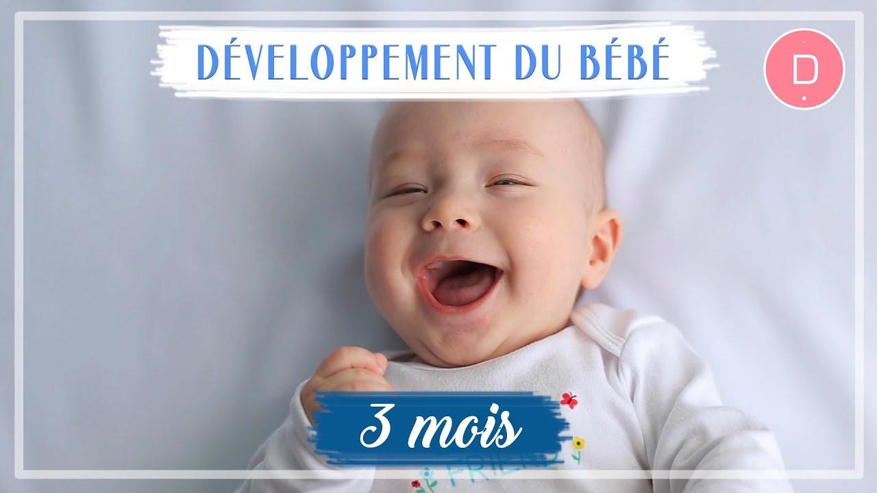 Développement de bébé - 3ème mois - YouTube f8439841452