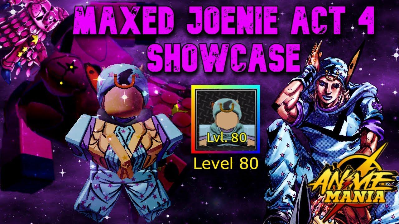 Download I FED MY MAXED GOKU BLACKS TO HIM... Maxed Joenie Act 4 Showcase in Roblox Anime Mania