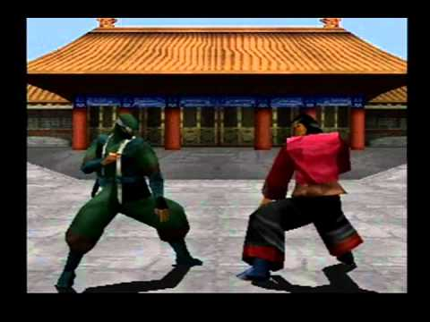 (Ps1) Kensei: Sacred Fist - all characters+