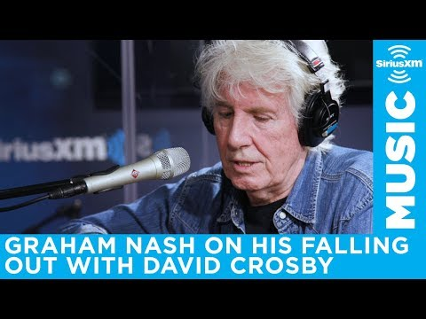 Graham Nash wants to fix his relationship with David Crosby