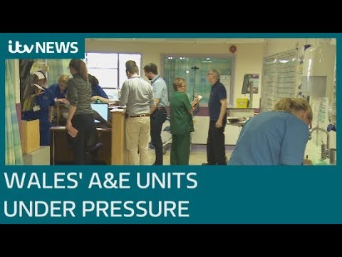 Inside One Of Wales' Busiest A&E Departments | ITV News