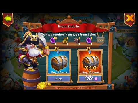 Castle Clash - Piratebooty Event | Trying For Prime Hero Card-3 | Not Bad Reward