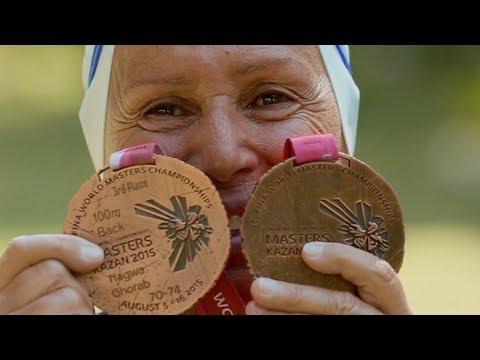 رسالة من تحت الماء لبطلة سباحة مصرية في العقد الثامن من العمر | بي بي سي إكسترا  - 17:55-2019 / 9 / 15