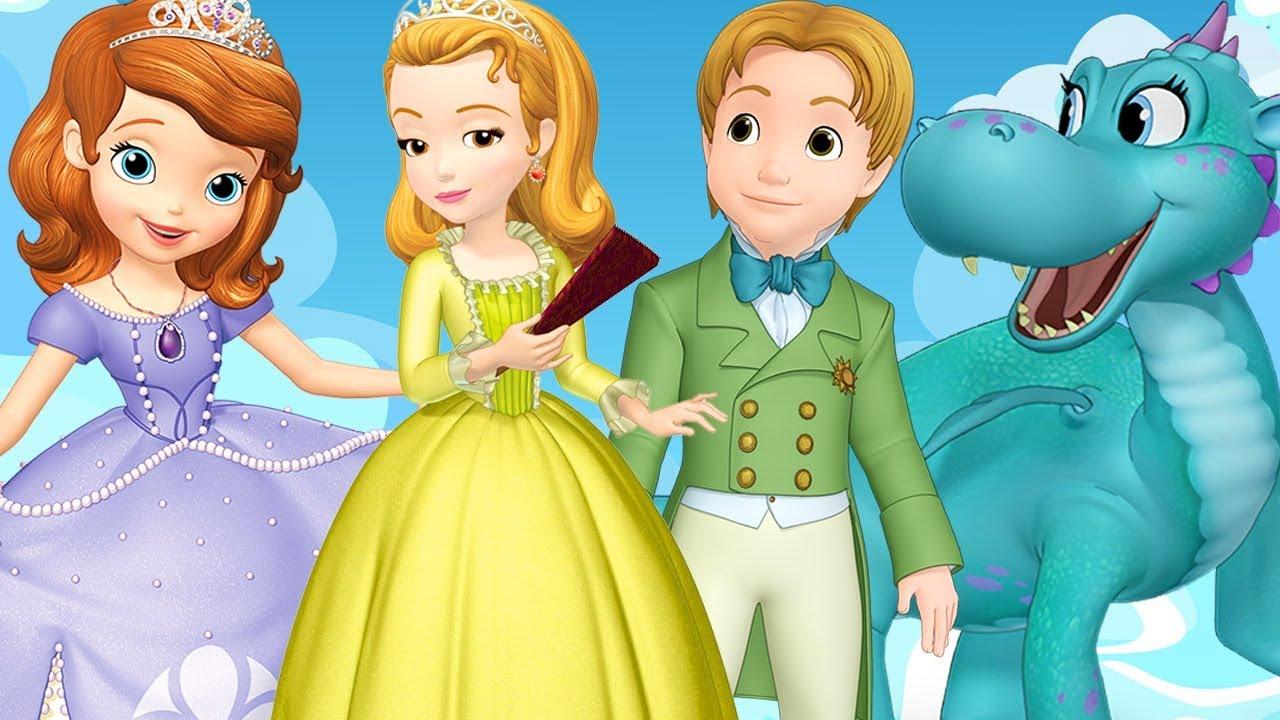 Disney Junior Princesses Sofia The First Ruby Amber