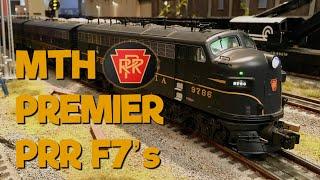 MTH Premier Pennsylvania F7 ABA Diesel set Proto 3.0  20-20190-1