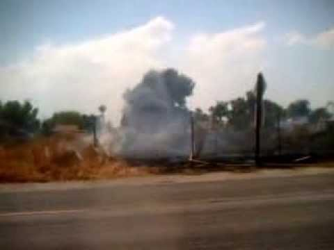 Field Fire in hemet california 2 years ago